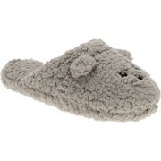 Generic Womens' Plush Terry Mouse Clog Slipper
