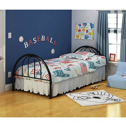Brooklyn Metal Twin Bed, Multiple Colors