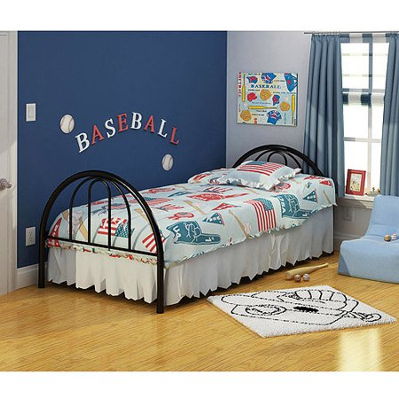 - Rack Furniture Brooklyn Classic Metal Bed, Twin, Multiple Colors