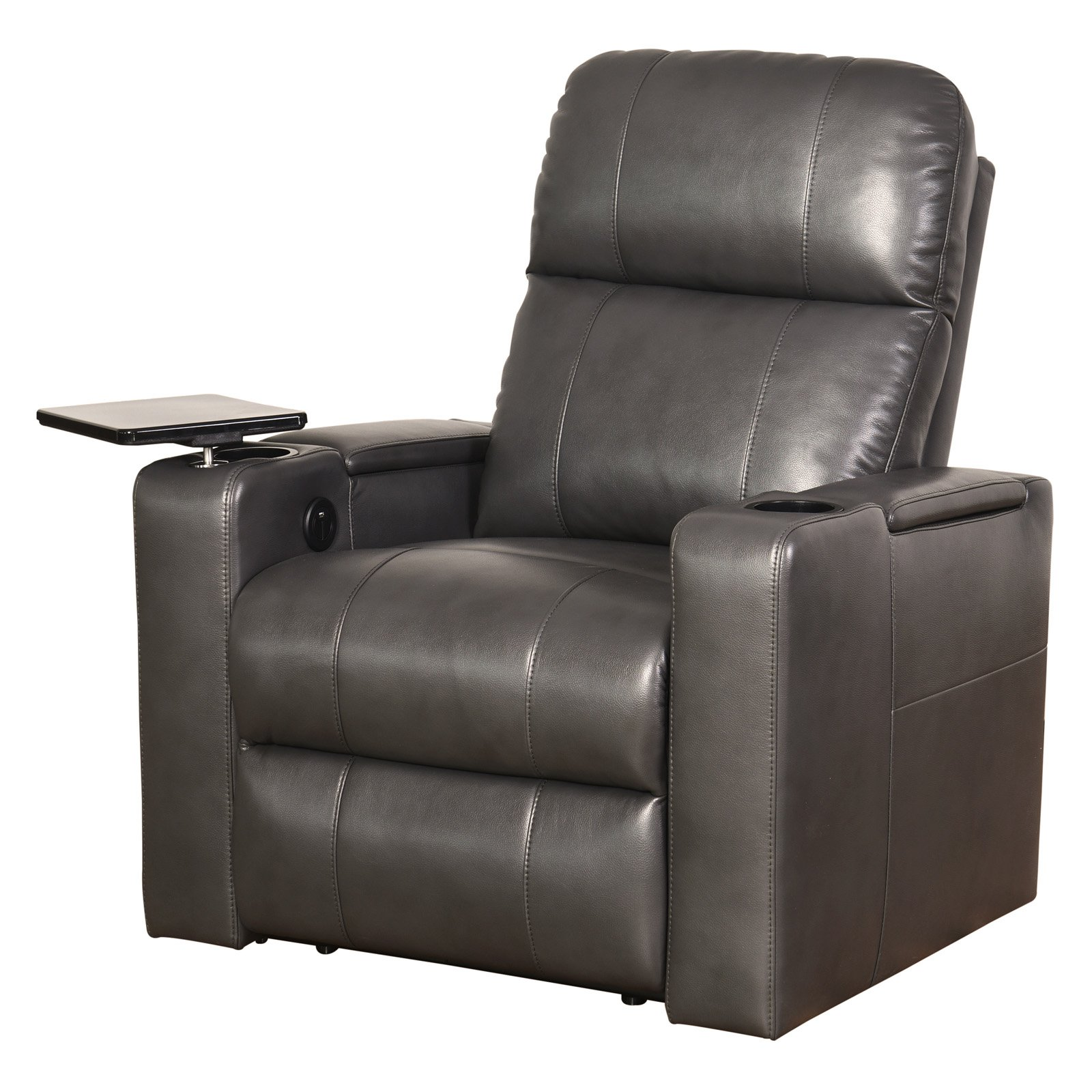Abbyson Sage Power Leather Recliner