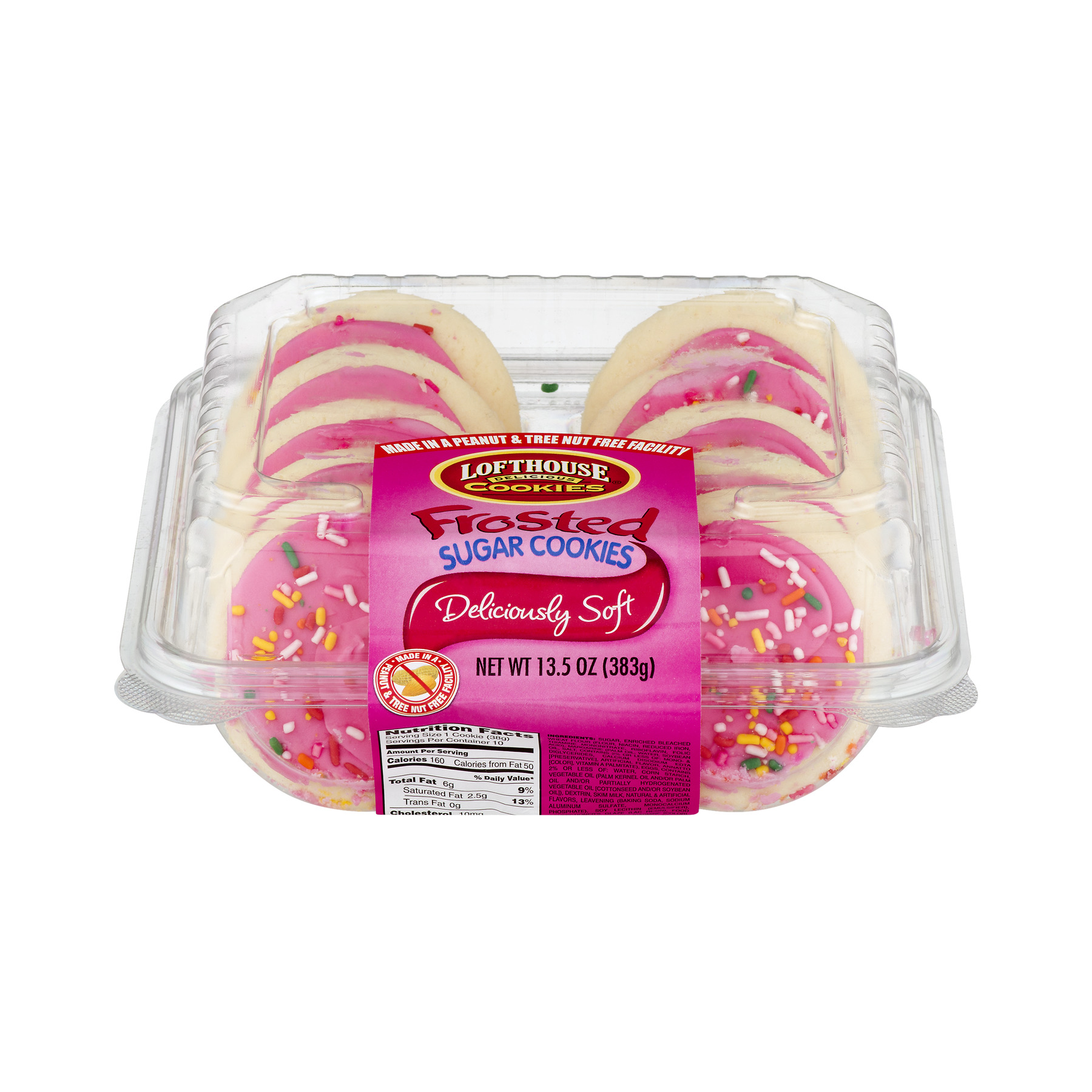 Lofthouse Frosted Sugar Cookies, 13.5 OZ