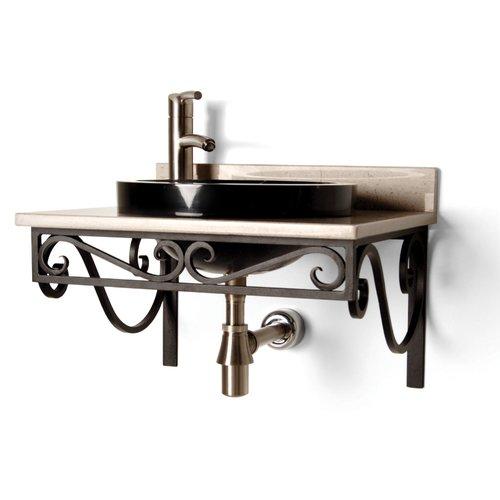DVontz Iron 21'' Single Bathroom Vanity Top