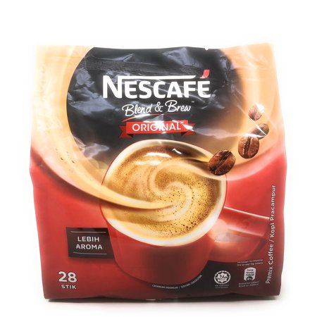Nescafé 3 in 1 Instant Coffee Sticks ORIGINAL - 28 Serving Cold Or Hot Coffee Best Asian Nescafe Coffee - Great Taste - Unforgettable (Best Japanese Instant Coffee)