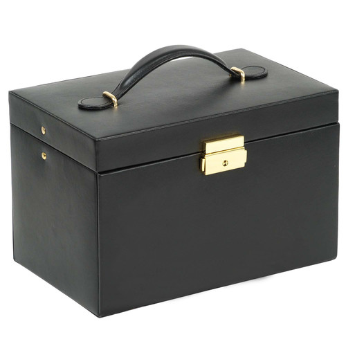 WOLF Heritage Large Jewelry Box with Travel Case