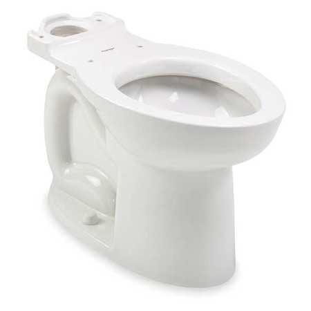 Toilet Bowl,Floor,Elongated,16-1/2 In H