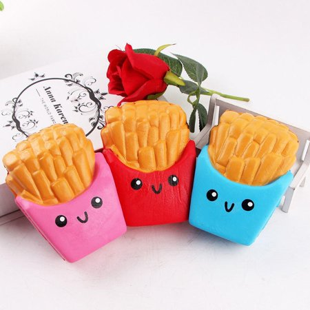 12CM Squishy kawaii french fries Cream Scented Squeeze 6 Second Slow Rising Toy 100CAI06230431 - Squishy Stores