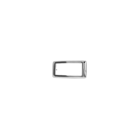 MACs Auto Parts  44-42701 Ford Mustang Side Marker Light Bezel - Chrome - Front Or Rear