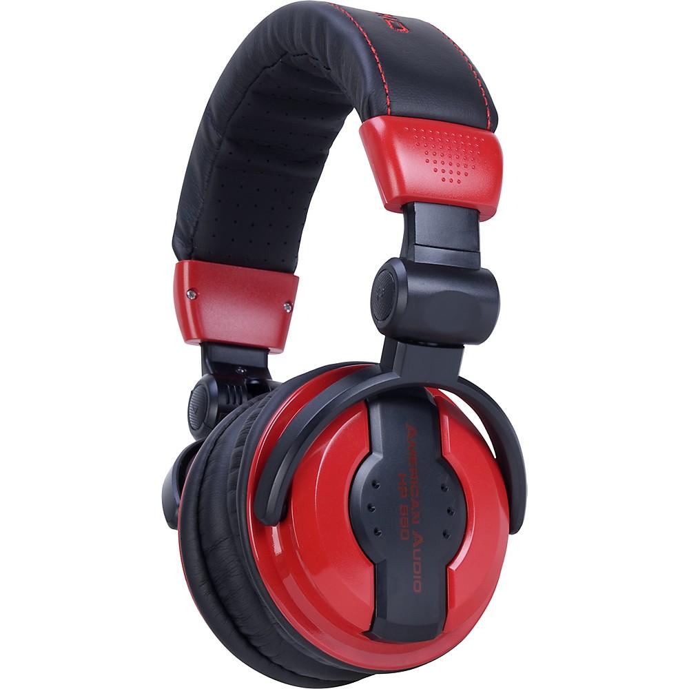 American Audio HP550 Professional Studio Headphones LAVA