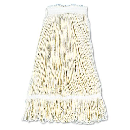 UNISAN 24 oz Pro Loop Web / Tailband Mop Head in White (Set of 13) ()
