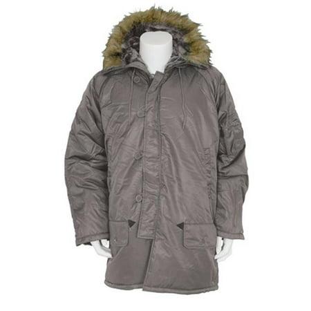 - FoxOutdoor 63-19 XXL Gi Style N-3B Parka, 2XL - Grey