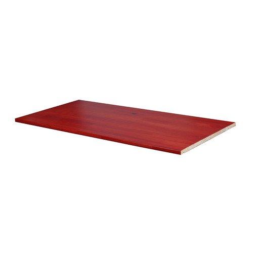 Palace Imports Optional Shelf For Smart Wardrobe, 100 Percent Solid Wood,  Multiple Finishes