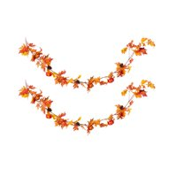 Way to Celebrate Fall Decorative Garland, Set of 2