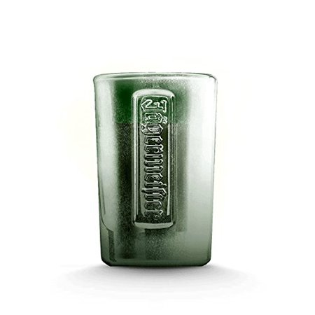 Green Raised Lettering Frosted Shot Glass (1) Shot Glass, 1 Jagermeister 3D Raised Shot Glass By Jagermeister,USA](Jagermeister Halloween Drinks)