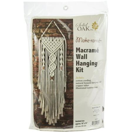 - Macrame Wall Hanger Kit-Dual Spirals