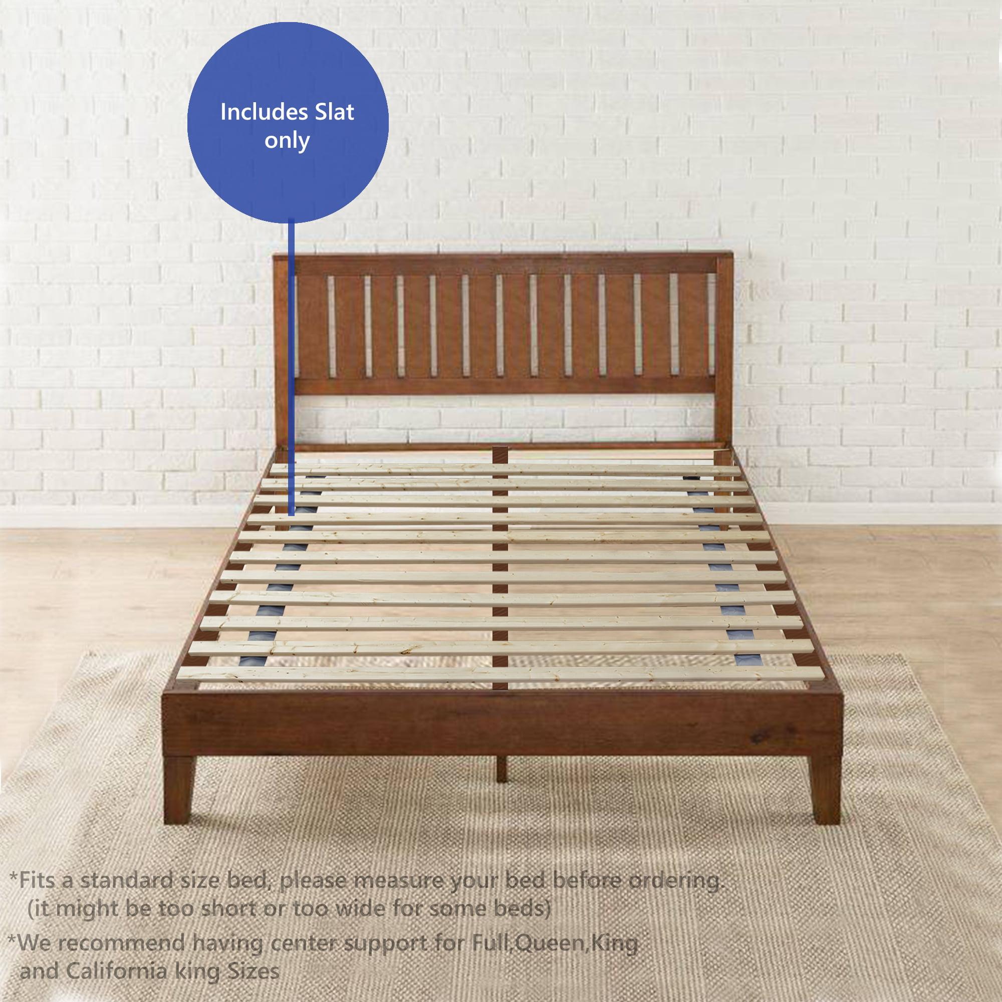 Continental Sleep 1 5 Inch Standard Mattress Support Wooden Bunkie Board Slats Full Size Walmart Com Walmart Com
