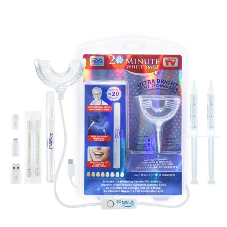 20 Minute White Smile Teeth whitening kit