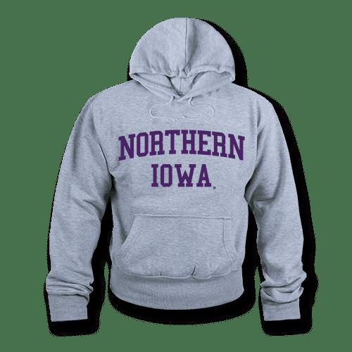 Ncaa Northern Iowa University Hoodie Sweatshirt Game Day Fleece Heather Grey Large Walmart Com Walmart Com
