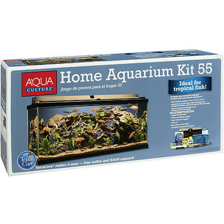 aquaculture 55 gallon aquarium kit - walmart.com