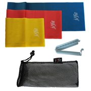 4-Pc Resistance Exercise Bands Set