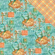 Voyage Beneath The Sea Double-Sided Cardstock 12 Inch X 12 Inch-Ne