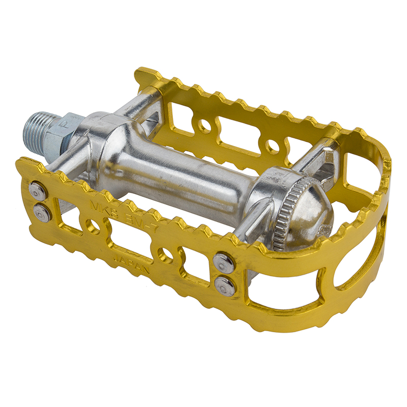 Bicycle Pedals Mks Bm-7 9/16 Gold