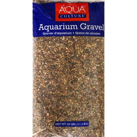 Saltwater Aquarium Gravel - Aqua Culture Aquarium Gravel Mix, Mountain Jewels, 25-Pound