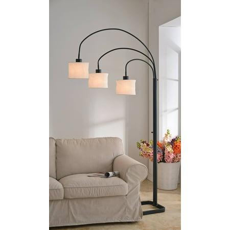 Kenroy Home Cerberus Oil Rubbed Bronze 3-Light Arc Lamp ()