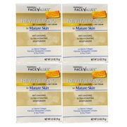 Harmon (4-Pack) Facevalues Revitalizing Day Cream Mature Skin SPF15 2.5oz Each