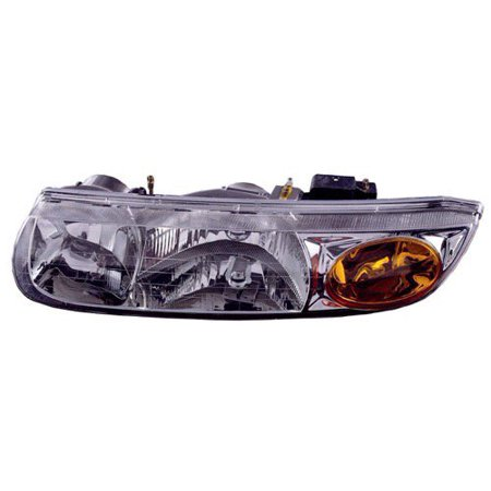 Saturn Sl2 Body Parts - Go-Parts » 2000 - 2002 Saturn SL2 Front Headlight Headlamp Assembly Front Housing / Lens / Cover - Left (Driver) Side - (Sedan) 21112455 GM2502206 Replacement For Saturn SL2