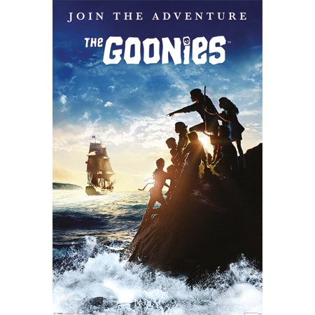 The Goonies   Movie Poster   Print  Join The Adventure   Size  24   X 36