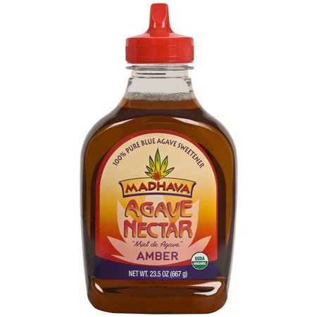 Madhava Natural Sweeteners Amber Agave Nectar, 23.5 oz