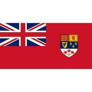 Canadian 1957 Flag (3 by 5 feet)