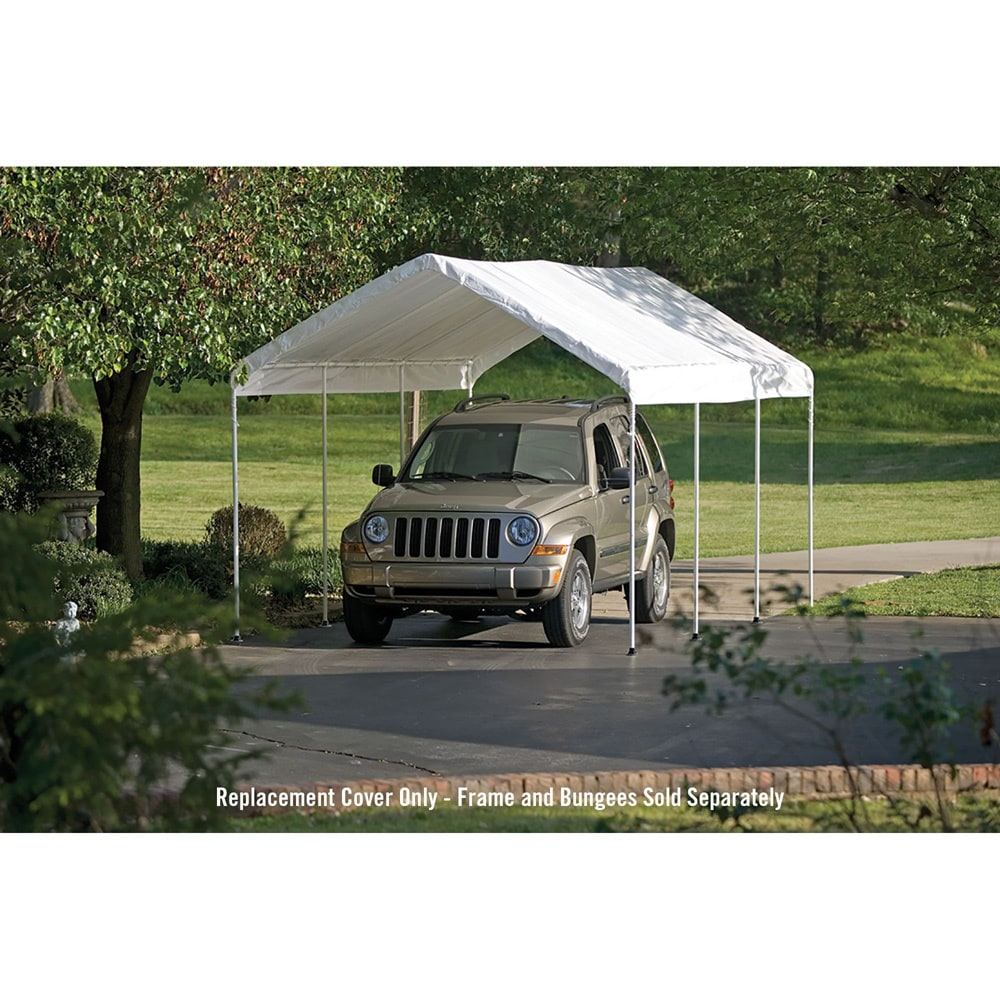 sc 1 st  Walmart & SuperMax 10u0027 x 20u0027 All Purpose Canopy Replacement Cover - Walmart.com