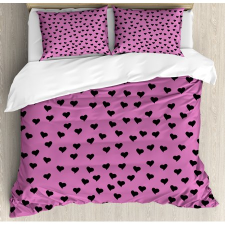 10ea18882670 Hot Pink Duvet Cover Set