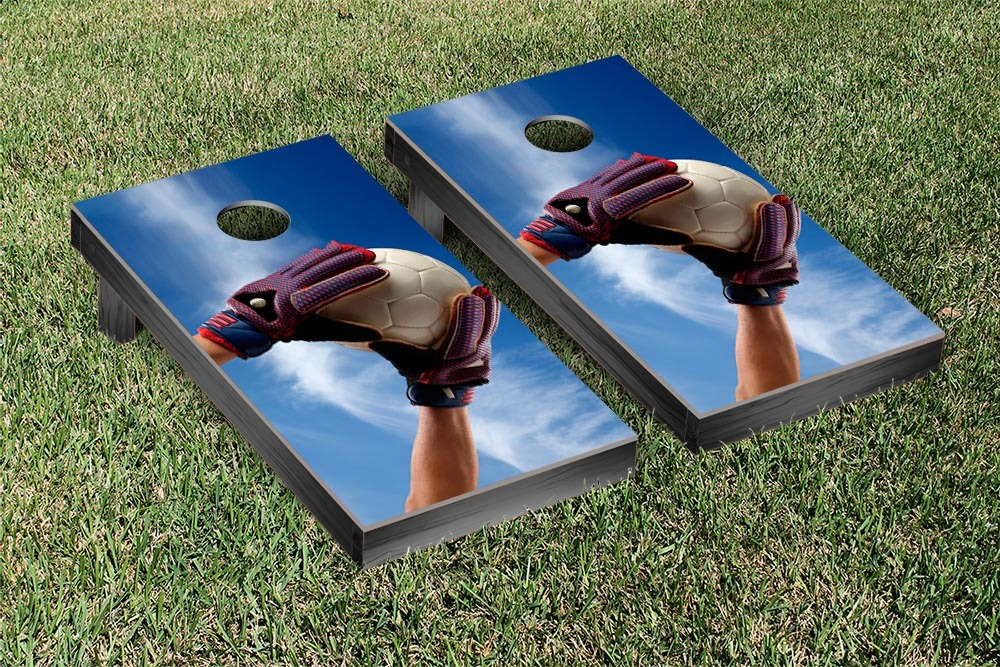 Soccer Save Cornhole Game Set by Victory Tailgate
