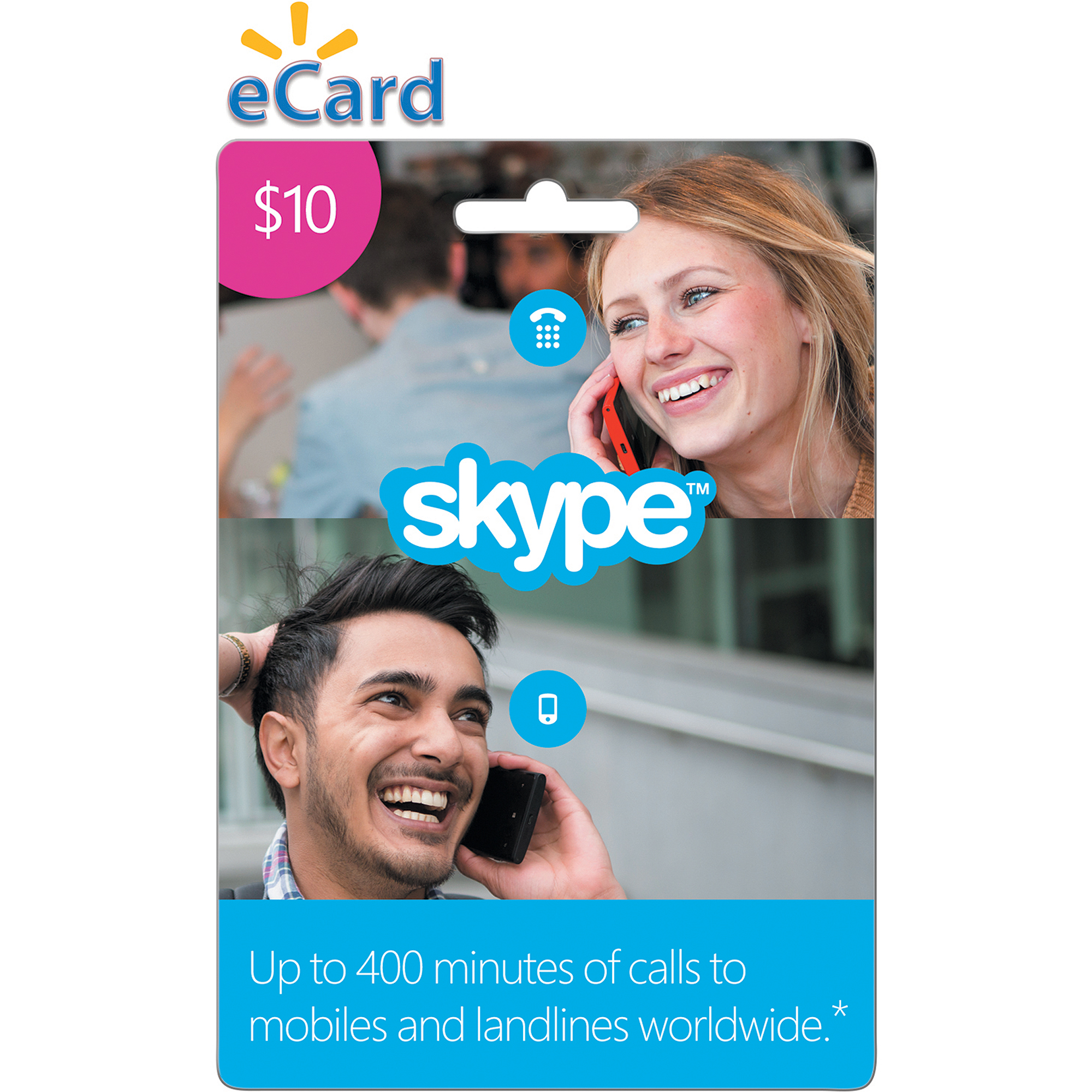SKYPE $10 Prepaid eGift Card (Email Delivery)