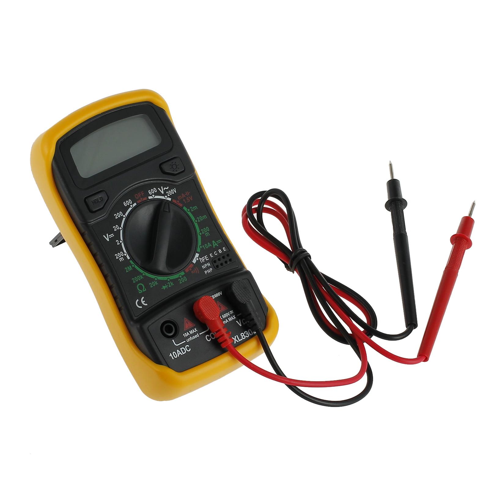 Esynic Digital Lcd Multimeter Xl830l Ac Dc Voltmeter Ammeter Ohm Tester Buzzer Circuit Checker