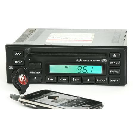 Kia 2002 2004 Spectra Radio Am Fm Cd Player W Auxiliary Input On Face 1K2nc6686x   Refurbished