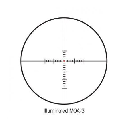 Sightron SIII 30mm Riflescope 3.5-10x44mm Long Range Illuminated MOA Reticle
