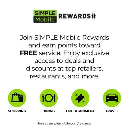 Simple Mobile LG Rebel 4 Prepaid Smartphone