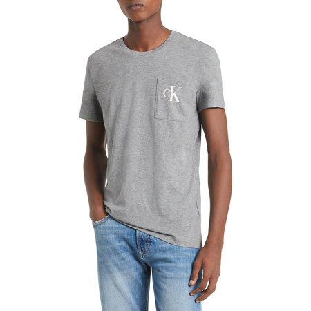 Monogram Pocket Slim T-Shirt