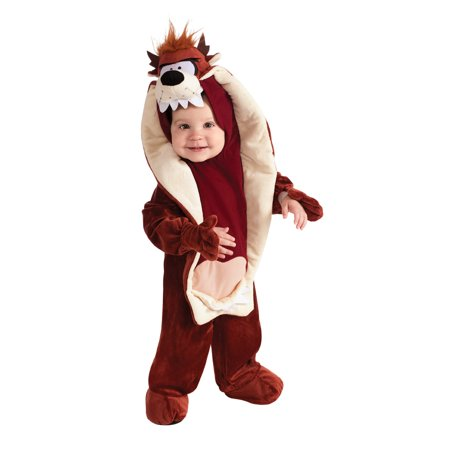 Looney Tunes Tasmanian Devil Romper Costume Infant Toddler