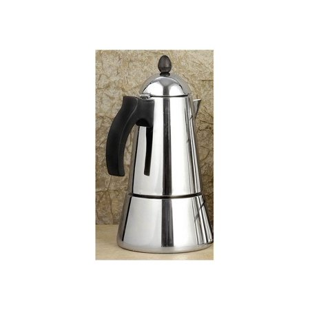 Metal Coffee Maker For Stove : Konica Stainless Steel stove top espresso maker, 10-cup - Walmart.com
