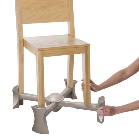 KABOOST Booster Seat for Dining, Natural - Goes Under the Chair - Portable Chair Booster for