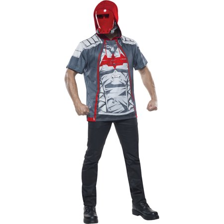 Adult's Mens Batman Arkham Knight Red Hood Vigilante Costume](Knight Costume Mens)