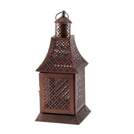 Lanterns Outdoor, Labyrinth Hanging Patio House Porch Metal Lantern Decor ()