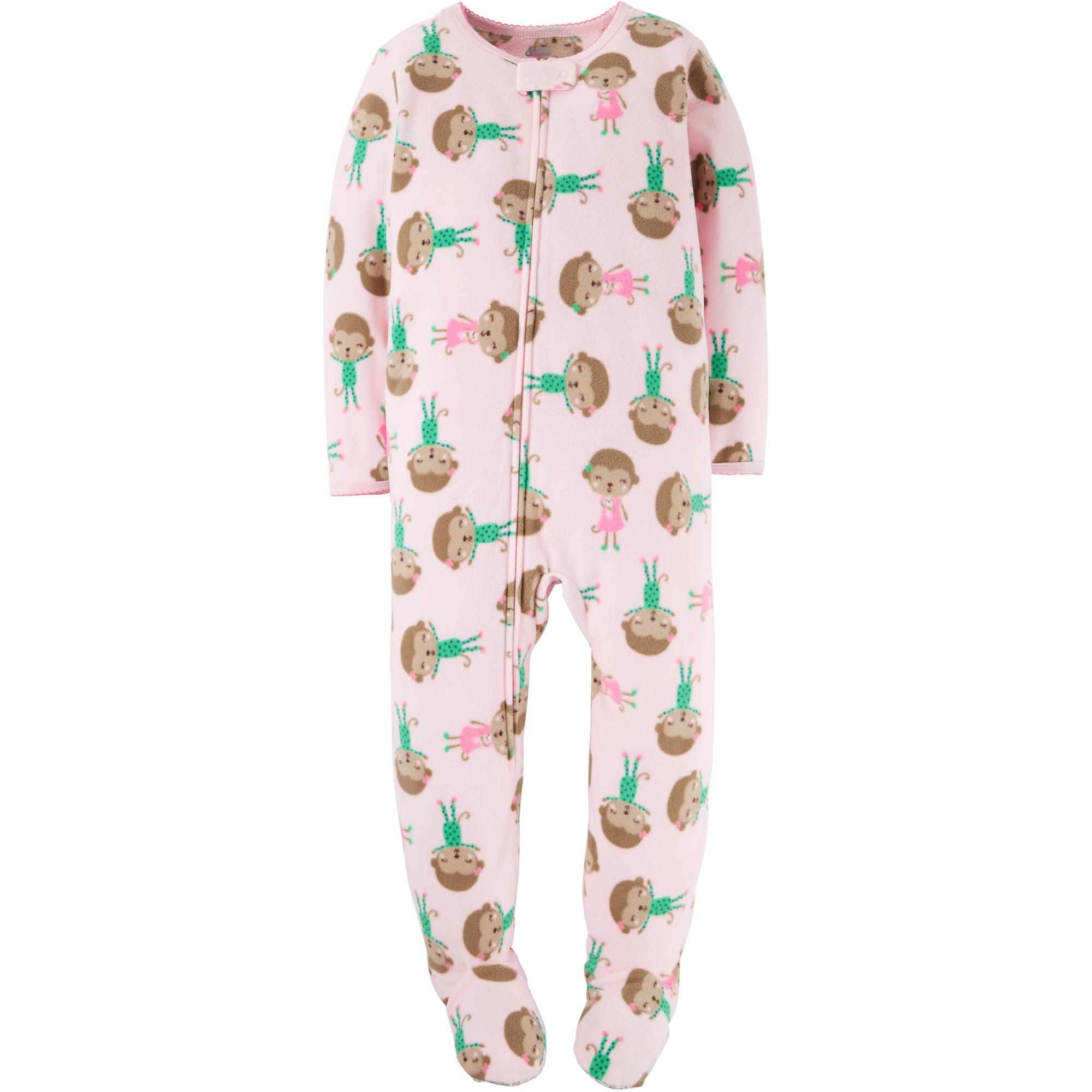 Child of Mine by Carter's Toddler Girl  1 Piece Blanket Sleeper