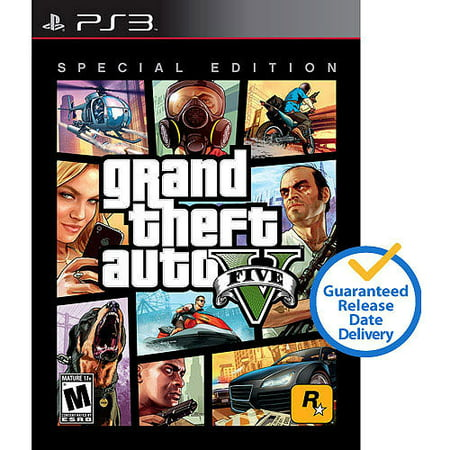 Take Two Grand Theft Auto V Special Edition (ps3)