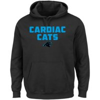 Carolina Panthers Majestic Hot Phrase Pullover Hoodie - Black