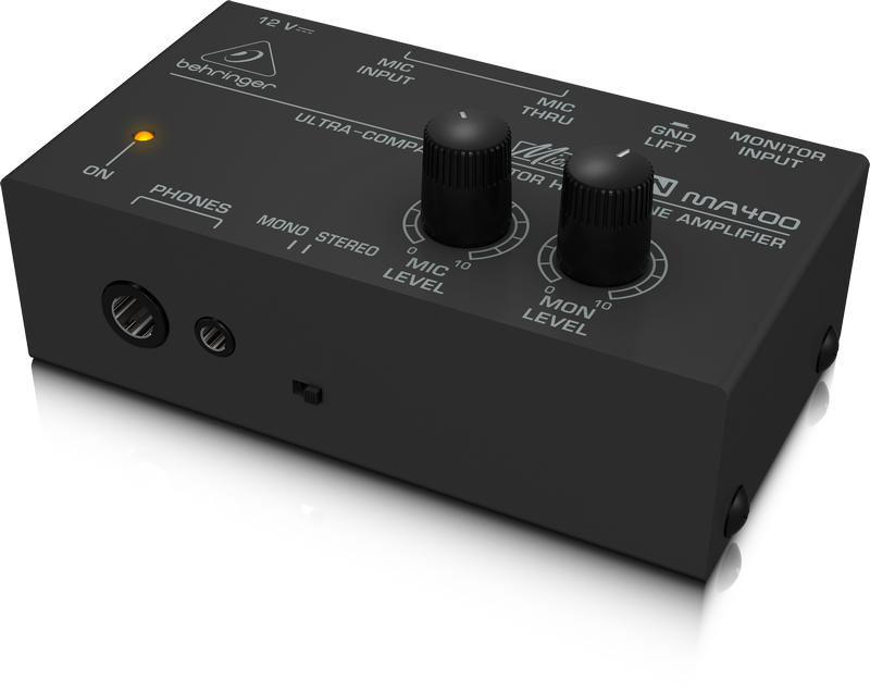 Behringer MA400 Ultra-Compact Monitor Headphone Amplifier by Behringer